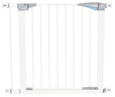 Metal Walk Thr Online Discount Small Initiative Safety Pet Gate With Door Fits Spaces 27.5 To 30 Inch