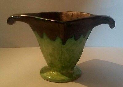 Discreet Très Beau Vase Montigny Sur Loing époque Art Deco Signé Louis Baude