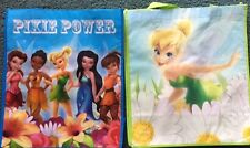 NEW 2 Disney Reusable Tall Shopping Bags/Gift Bags Fairies & Pixies