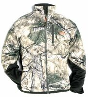 Cabela's Scent Factor Wind & Waterproof Mountain Mimicry Silent Hunting Jacket