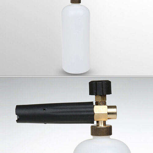 Snow Foam Lance Cannon Pressure Washer Gun Car Foamer Wash Bottle Adapter Set IH