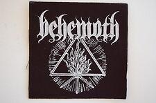 "Behemoth Cloth Patch Sew On Badge Black Metal Enslaved Approx 4""X4"" (CP233)"