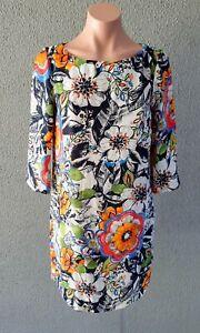 💜 ZARA Long Sleeve Shift Dress Multicolor Size S Buy7=FreePost L759