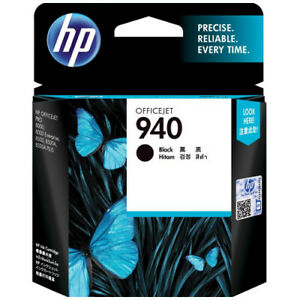 HP-Genuine-940-Black-Ink-Cartridge-c4902aa-Expired-2-18-For-Officejet-Pro-8000
