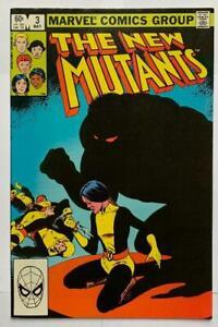 The New Mutants #3. (Marvel 1983) VF Bronze age Classic.