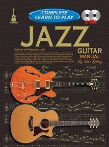 Complet Apprendre à Jouer Guitare Jazz Gélifiant + 2 Cd-afficher Le Titre D'origine Faire Sentir à La Facilité Et éNergique