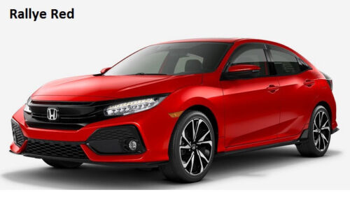 Genuine OEM Honda Civic Hatchback Type R Sport /& Touring Door Visor Kit 17-19