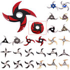 Naruto Shippuuden Metal Transformable Shuriken Cosplay Weapons Toy Gift Lot
