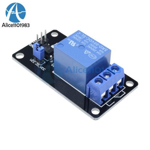 5PCS One 1 canales aislados 5 V Relé Módulo Optoacoplador De Acoplamiento Para Arduino