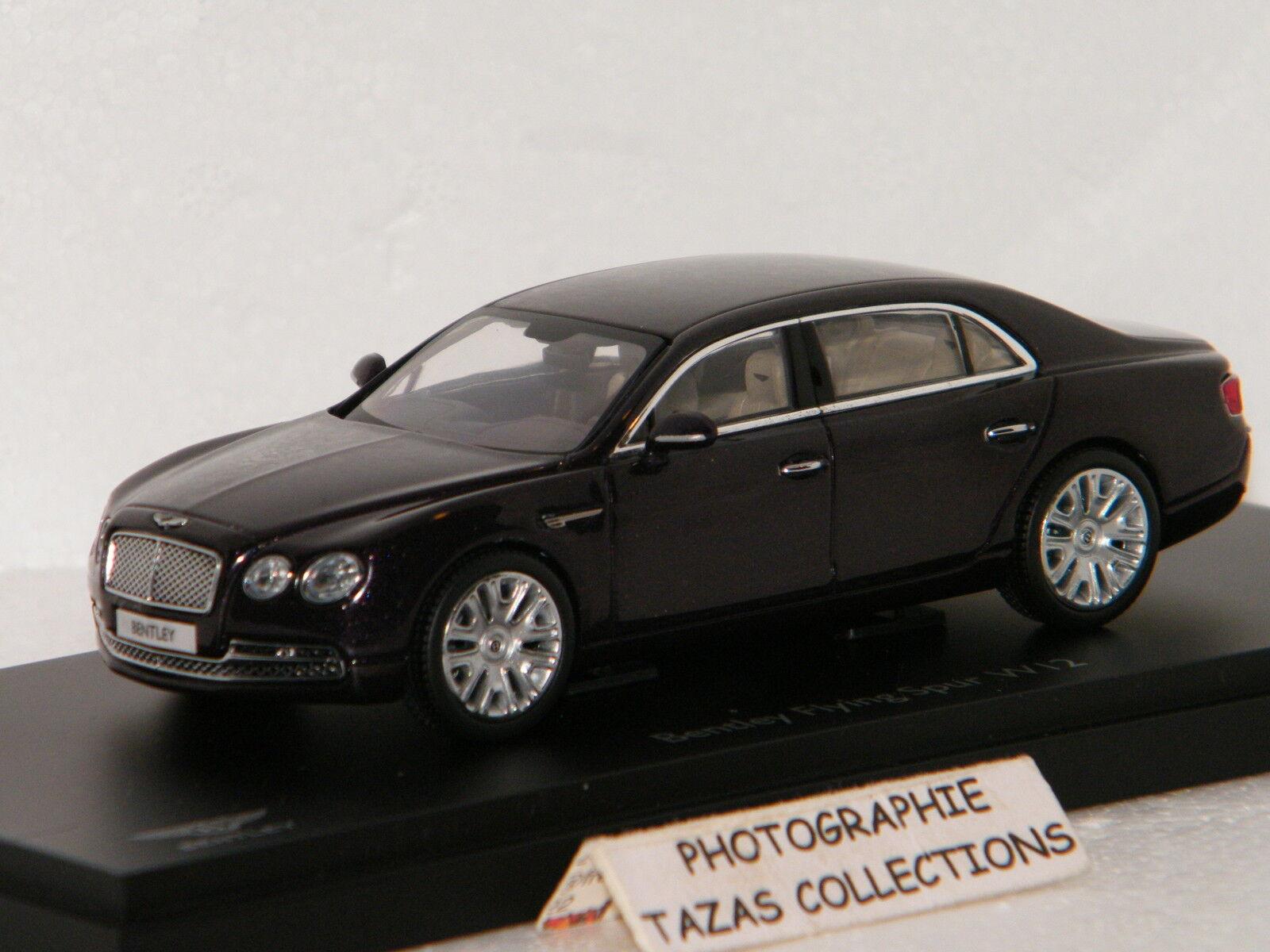 Bentley en volant spur  w12 (président) kyosho 1 43 ref no. 05561d  détaillants en ligne