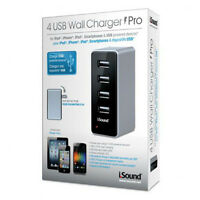 Dreamgear (isound-2106) I.sound 4 Usb Wall Charger Pro - Power Adapter