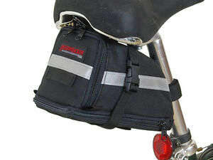 Bushwhacker-Tacoma-Black-Bike-Seat-Bag-Bicycle-Wedge-Cycling-Underseat-Frame-Bag