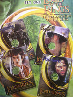 The Lord of the Rings The Fellowship of the Ring Set One 4 CD Cardz