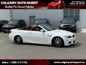 2008 BMW M3 Cabriolet M3 NAVI/6-SPEED MANUAL/LEATHER
