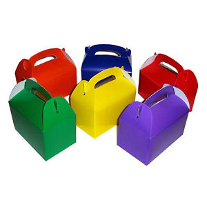 24pc-Assorted-Cardboard-treat-Boxes-Party-Favors-Goody-Bags-Favor-Candy-Box-LOT