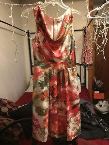 WOMEN-039-S-ELIZA-J-FROM-NORDSTROM-FLORAL-DRESS-SZ-6-NEW-WITH-TAGS