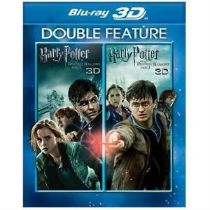 3D Blu-Ray - Harry Potter & the Deathly Hallows Part 1 & 2 Bundle