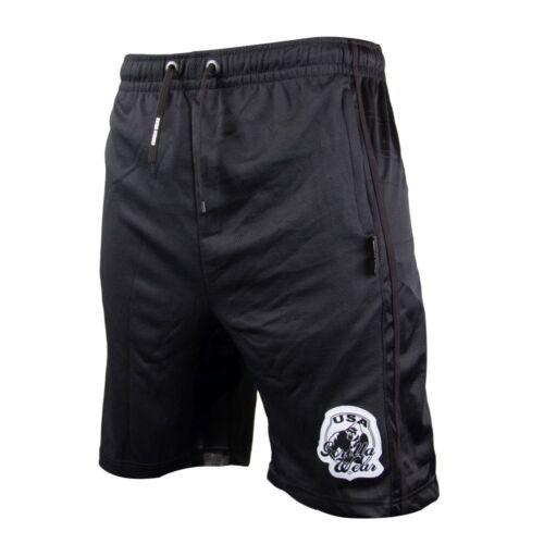 Gorilla Wear Athlete Oversized Shorts Black Bodybuilding und Fitness Short