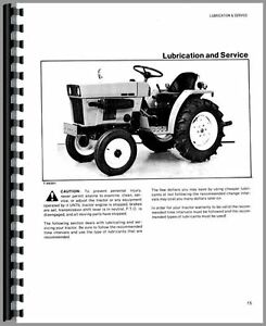 Details about Allis Chalmers 5015 Tractor Operators Manual AC-O-5015