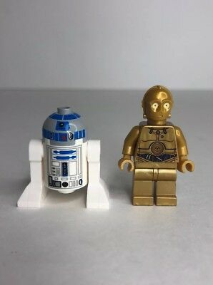 Lego Star Wars C-3PO and R2-D2 Mini Figures