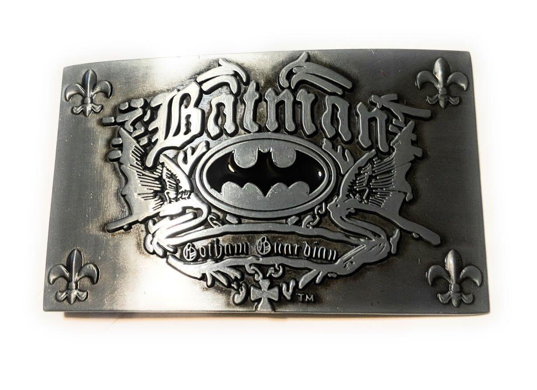 ~ NEW GOTHAM BATMAN GOTHAM GUARDIAN ~ METAL BELT BUCKLE ~ great for comic con
