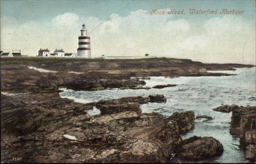 Genova Italy Lighthouse c1910 Postcard