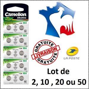 Piles-bouton-Alcaline-1-5V-Type-AG4-LR66-LR626-377-NEUF