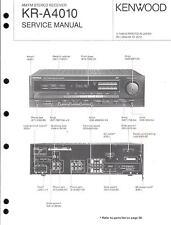 Kenwood Original Service Manual für KR- A 4010
