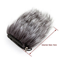 Unique Fur Windscreen Windshield Wind Muff for DSLR Microphone Mic Noise Cutter