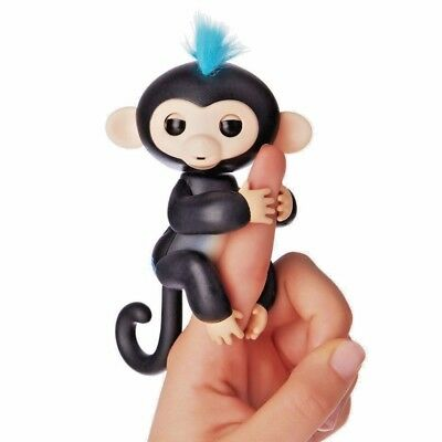 FINN INTERACTIVE PET FINGER MONKEY FULL FUNCTION  REACTS TO TOUCH-SOUND+MORE NIB