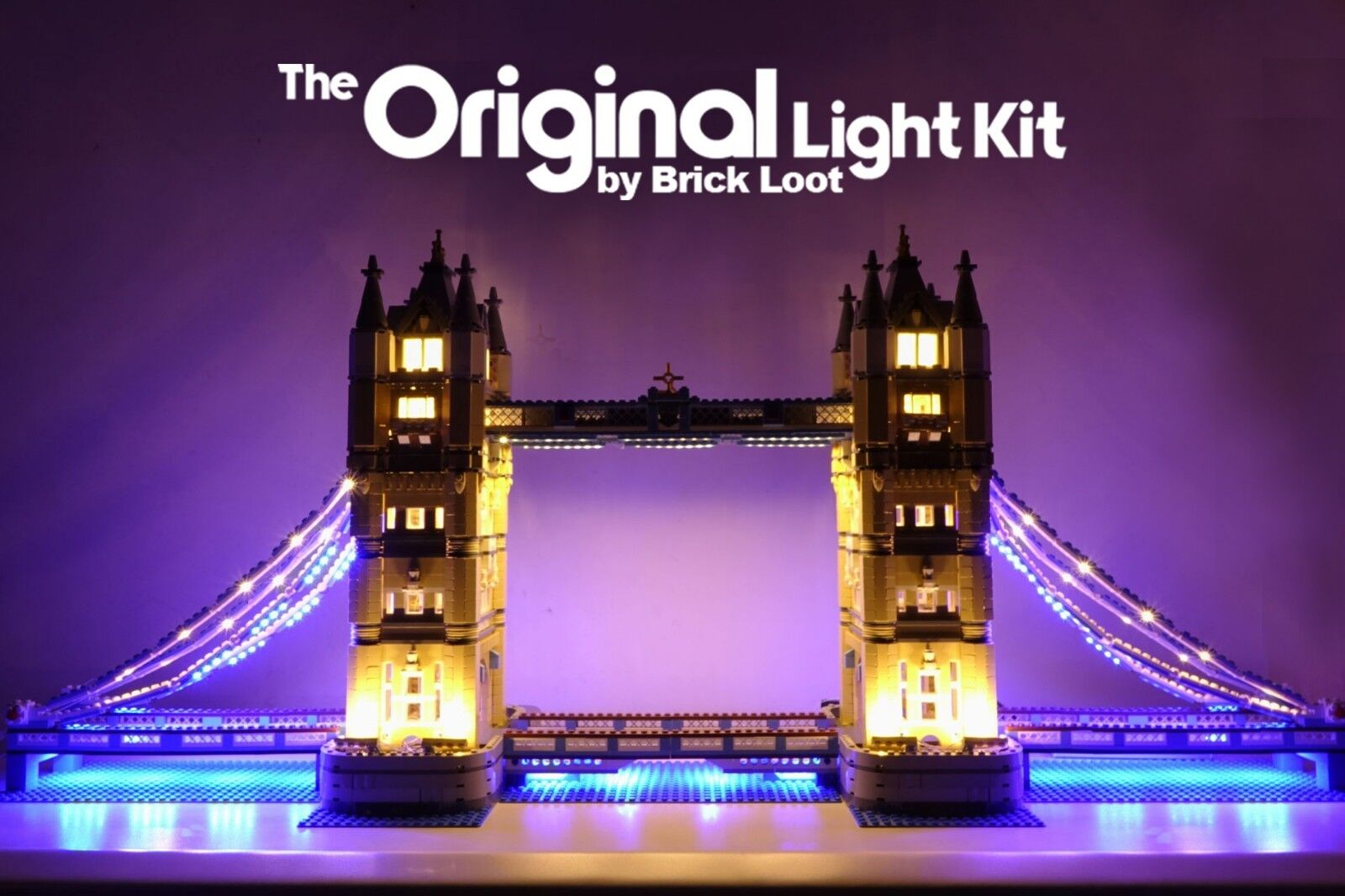 LED Lichting kit for LEGO ® Tower Bridge 10214