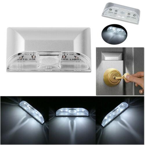 4 LED Door Lock Handle Sensor Night Light Energy Efficient Portable Wireless