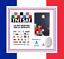miniatura 1 - ✅ CARTE TNTSAT HD OFFICIELLE NEUVE VALABLE 4 ANS CHAINES TNT FRANCAISES PAR SAT