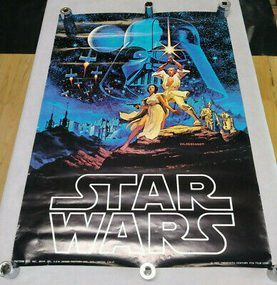 Star Wars 1977 Episode Iv A New Hope Factors Image Factory Commercial Poster Ebay