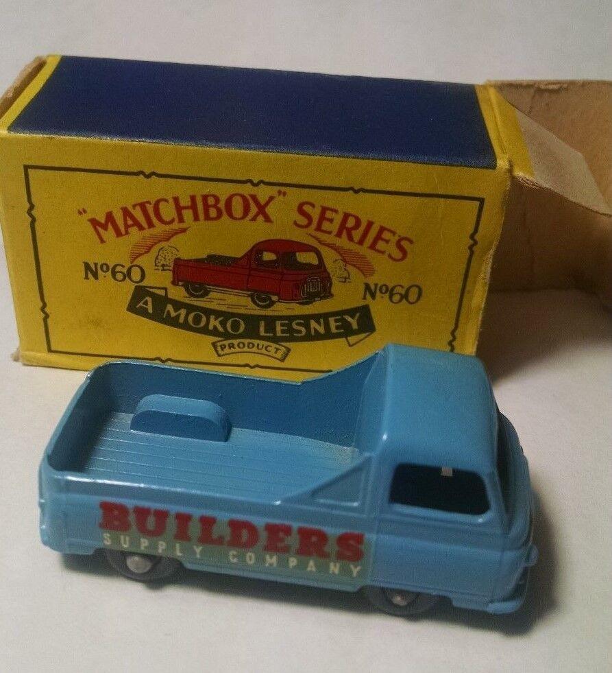 Cochetucho de cerillas, rueda normal 60 Maurice PIKA BPW, calcomanías blancoas 1958