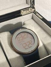 686abf5fd7a I-Gucci Men s Watch Digital-Analog Light Effect Brown YA114209 with Display  Case
