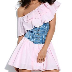 Stufenkleid m By Xs Voltant Damenkleid Sommerkleid Alina Standkleid pqI107