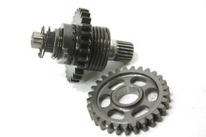 2003-Honda-CR250-CR-250-Kick-Starter-Idle-Gear-Pinion-Set-with-Spindle-Shaft
