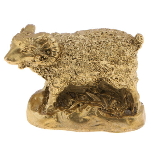 Golden Solide Brass Traditional Chinese Zodia Animals Figurines Collections