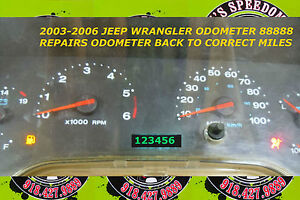 Image Is Loading 2004 Wrangler Tj Repair Servicie For When Your