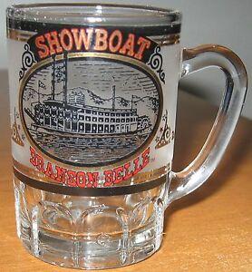 Branson-Belle-Shot-Glass-Mug-Showboat-Paddle-Boat-Cruise-Missouri-Souvenir