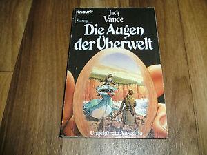 Details zu Jack Vance AUGEN der ÜBERWELT Knaur F 5835 1986