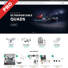 Drones Dropshipping Store Ready Made Premium Website Business For Sale