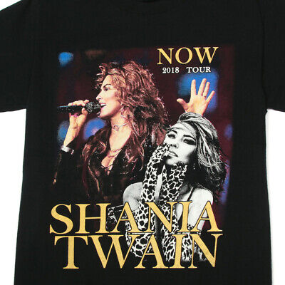 Shania Twain Now 2018 Tour T-shirt Personalised Tee Concert Clothing