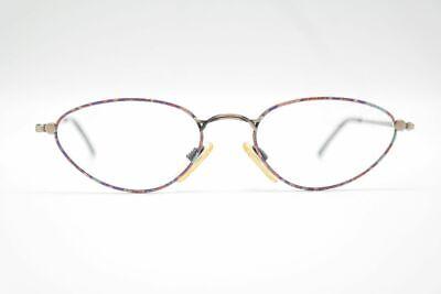 Ambizioso Vintage Italia Design 3379 50 [] 17 140 Colorato Ovale Occhiali Eyeglasses Nos- L'Ultima Moda