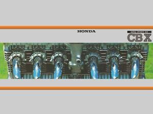 HONDA-CBX1000Z-VINTAGE-MOTORCYCLE-MOTORBIKE-POSTER-BROCHURE-ADVERT-A3