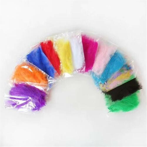 100 pc Feathers 1 Inch Sewing Craft Wedding Party Decorations