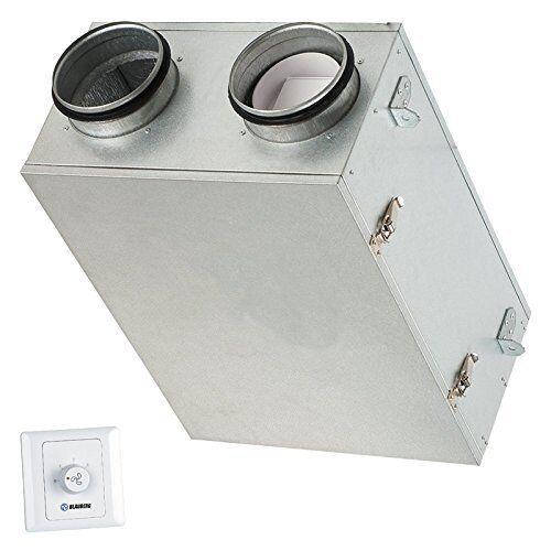 Blauberg UK Komfort Ultra D105-A Heat Recovery Unit Whole House MVHR System