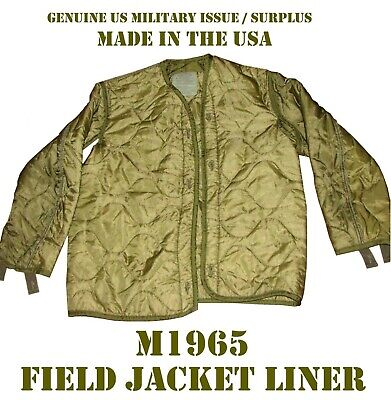 **US Military Army Quilted Cold Weather Winter Coat//Jacket Liner Small /& MED NOS