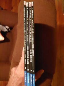 I, Vampire Vol 1, Vol 2, Vol 3, Frankenstein Agent Of S.h.a.d.e. vol 1 lot of 4